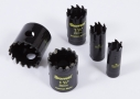 Starrett black CT hole cutters for ductile iron pipes